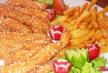 50% попуст на порција ПИЛЕШКИ ПРСТИ со помфрит во ресторан ПОТПЕШ во вредност од 250ден. за само 125ден.