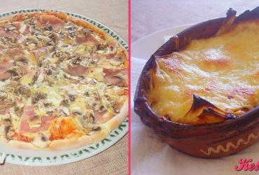 52% попуст на ГОЛЕМА ПИЦА КАПРИЧИОЗА или ЛАЗАЊИ БОЛОНЕЗЕ по избор во пица ресторан ВИА САКРА во вредност од 250ден. за само 119ден.