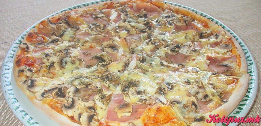 50% попуст на ГОЛЕМА ПИЦА по избор КАПРИЧИОЗА, NAPOLITANA или VEZUVIO во пица ресторан ВИА САКРА во вредност од 260ден. за само 129ден.